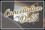 CANCELLATION D-15 ALL WINTER